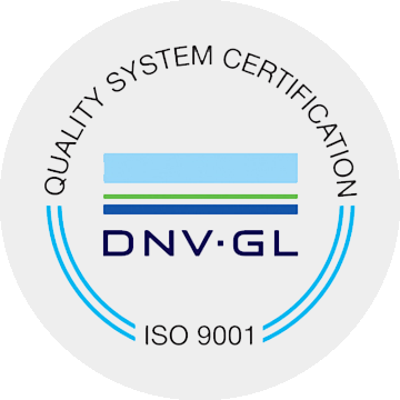 ISO 9001: DNV GL Quality System Certification